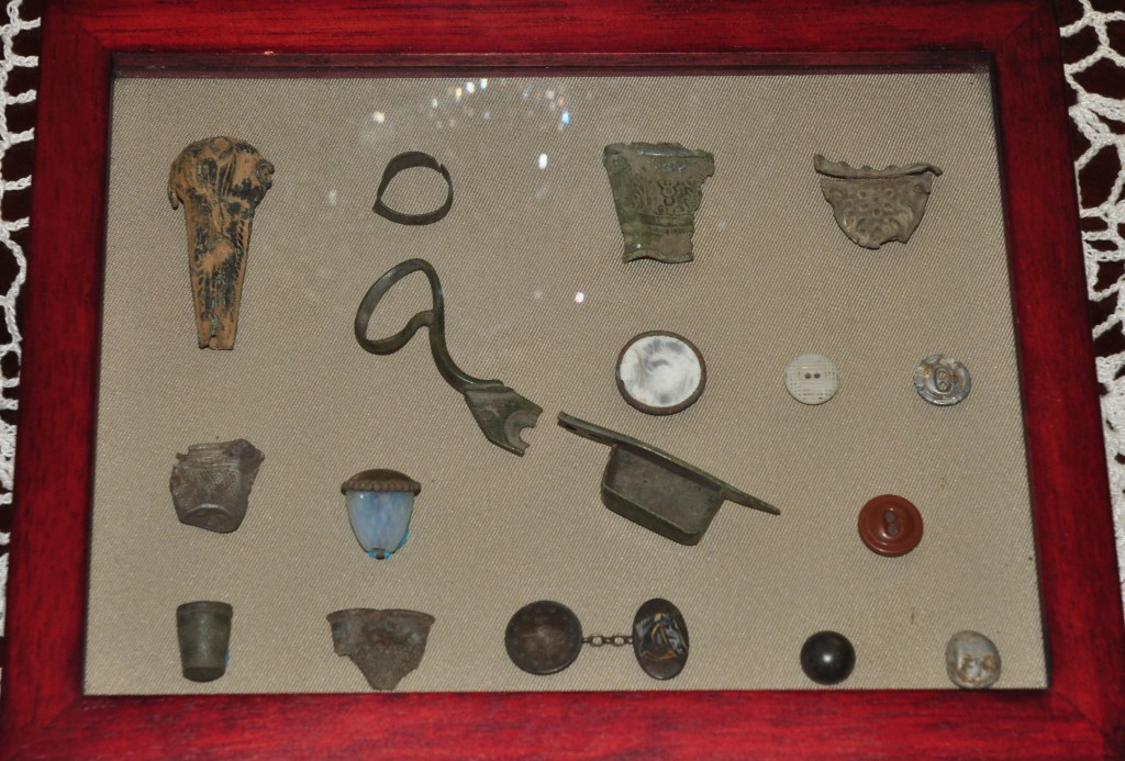 Rosehill Archaeological Sewing Items