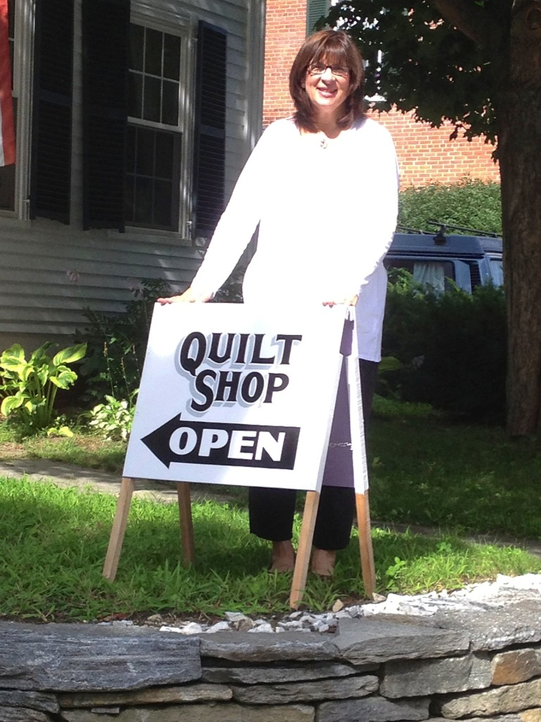 kathy quilt shop open