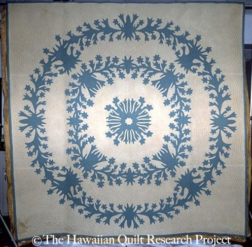 Garden Island Quilt. From the Mauna Kea Beach Hotel Collection