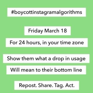IG boycott