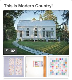 Modern Country inspiration on Pinterest.
